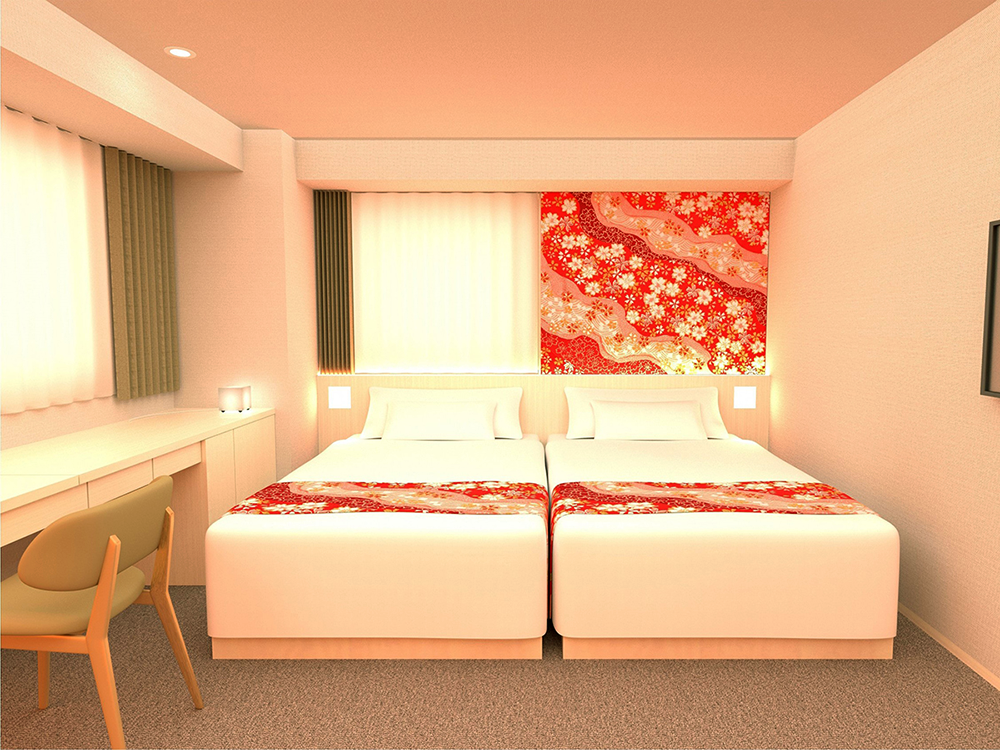 Hotel Wing International Premium Kanazawa Ekimae - Twin Room