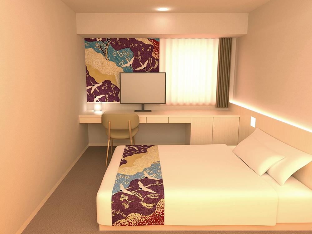 Hotel Wing International Premium Kanazawa Ekimae - Standard Double Room