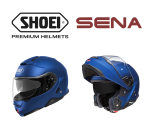 SENA and SHOEI Helmets