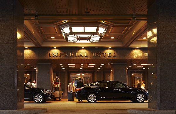 16 - Imperial Hotel Tokyo Entrance