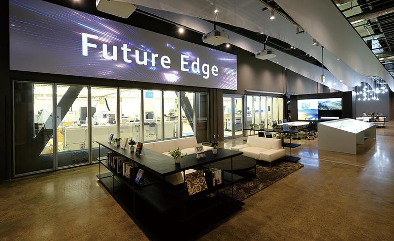 "Fuji Xerox Unveils Open Innovation Hub ""Future Edge"""