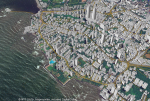 Example 3D map of Mumbai, India that will be offered in the new AW3D India dataset (view from ocean)