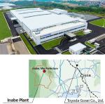 Toyoda Gosei Co., Ltd. Inabe Plant in Inabe City, Nagoya, Mie