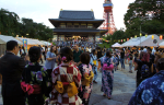 Bon-Dancing & Summer Festival at Zojoji Temple