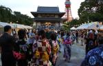 Bon-Dancing & Summer Festival at Zojoji Temple