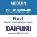 No.1 Materials Handling Systems Supplier: Daifuku