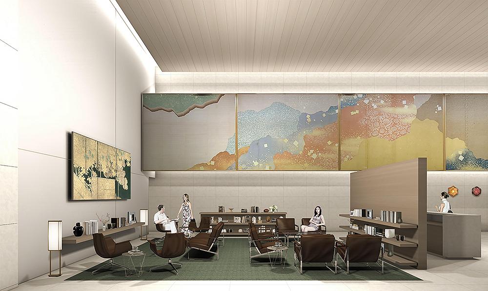 The Okura Heritage Wing Lobby