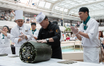 Largest Sushi Roll at Sea Created by Holland America Line 05