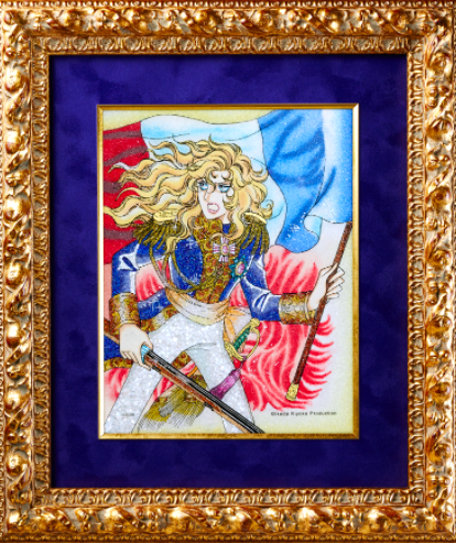 Jewelry Art Painting - Rose of Versailles 03