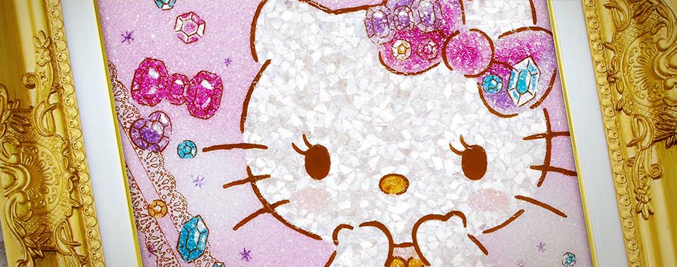 Jewelry Art Painting - Hello Kitty 01