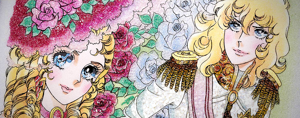 Jewelry Art Painting - Rose of Versailles 01