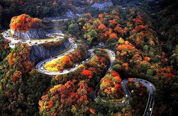 Irohazaka Winding Road 1