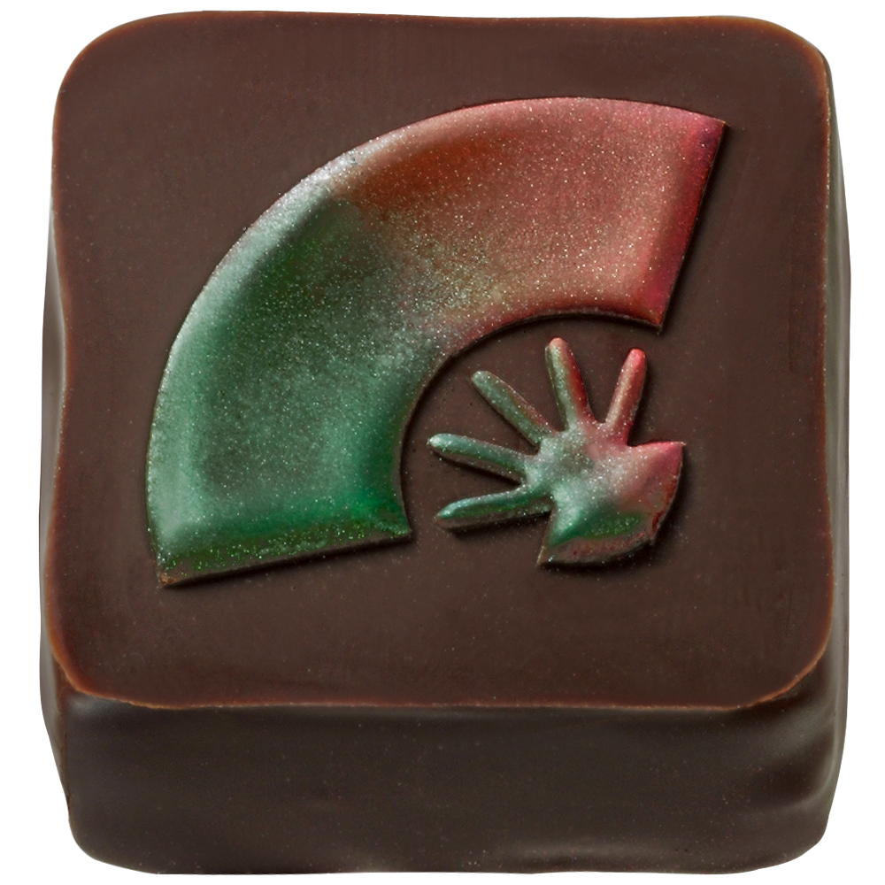 Mary Chocolate - Green perilla and strawberries