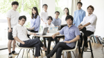 Medmain Team and Osamu Iizuka, CEO (Center).