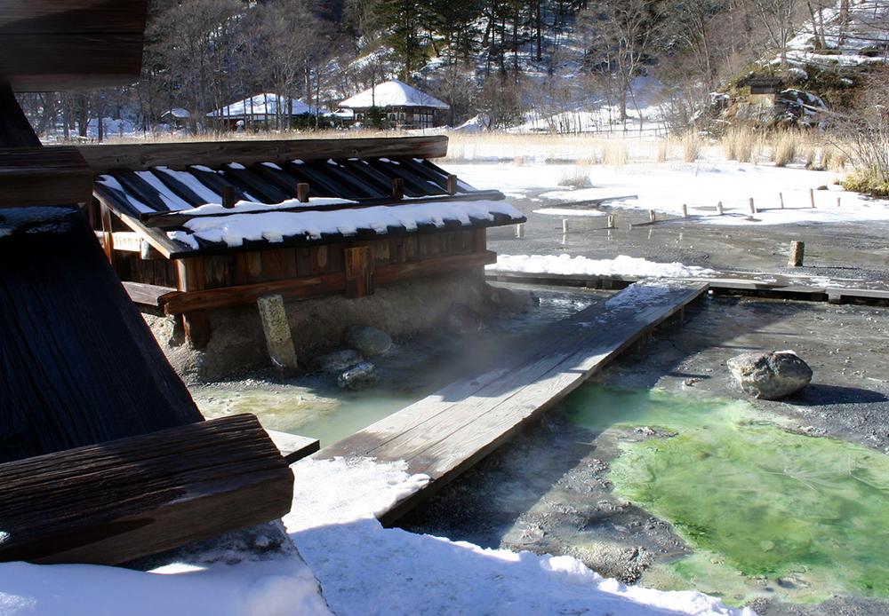 Yumoto Onsen in Nikko