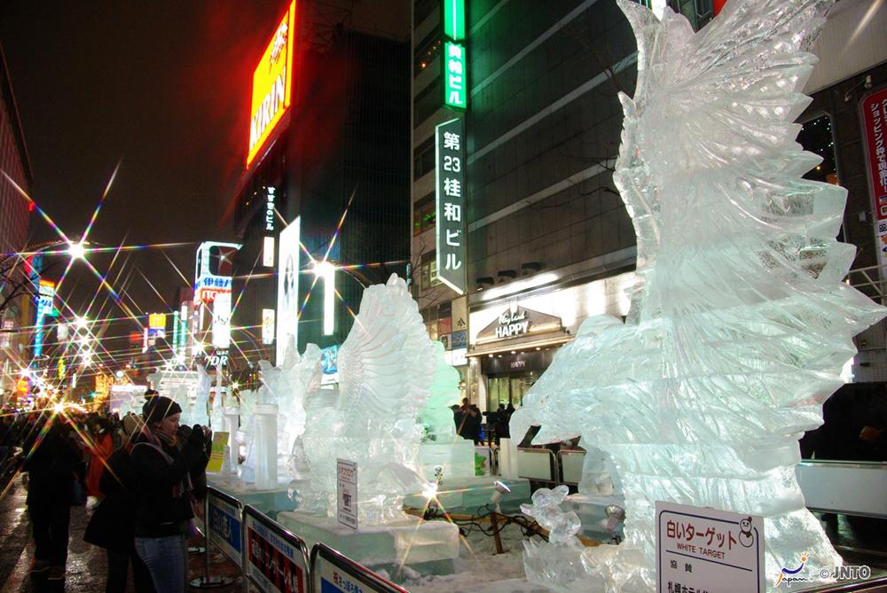 Sapporo Snow Festival in Hokkaido